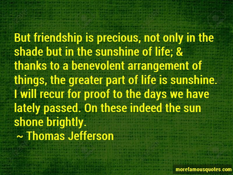 Friendship Is Precious Quotes