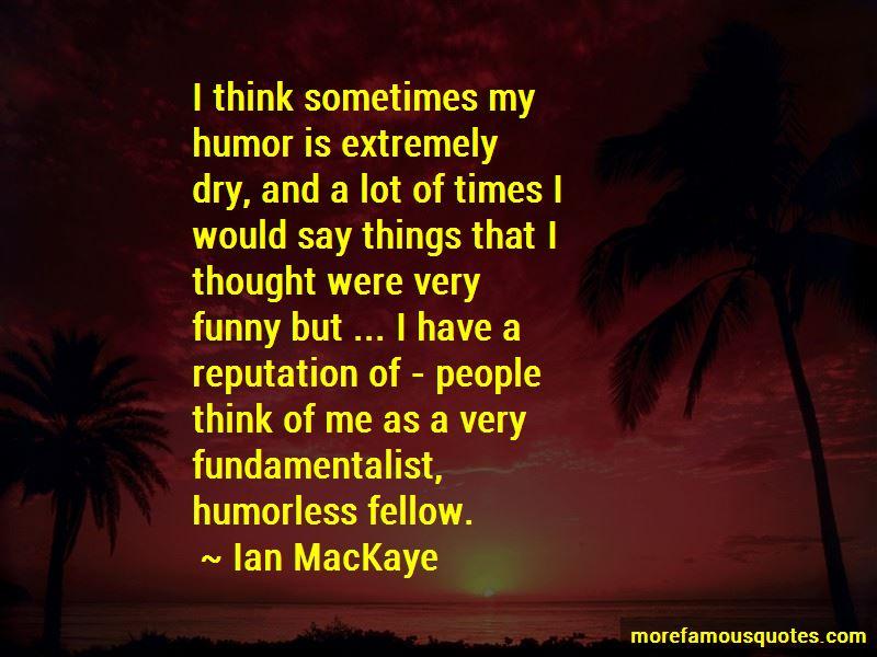 Funny Fundamentalist Quotes
