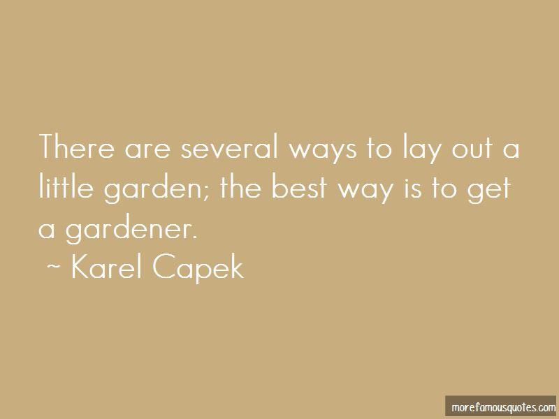 Gardener Quotes