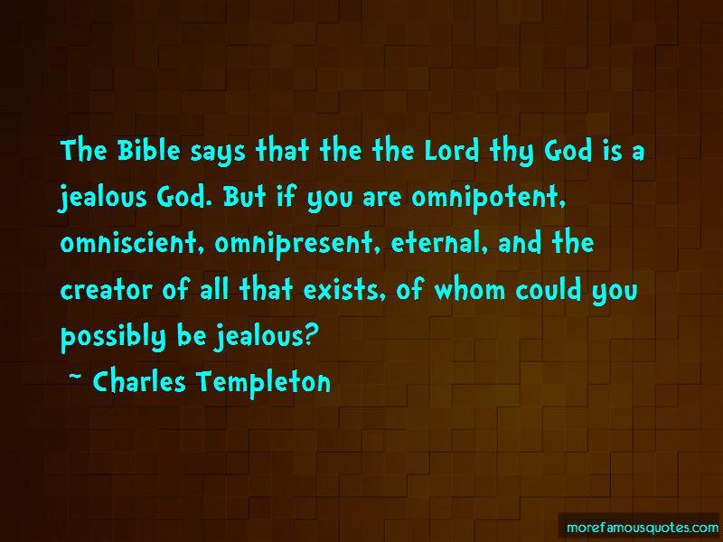 God Omniscient Bible Quotes