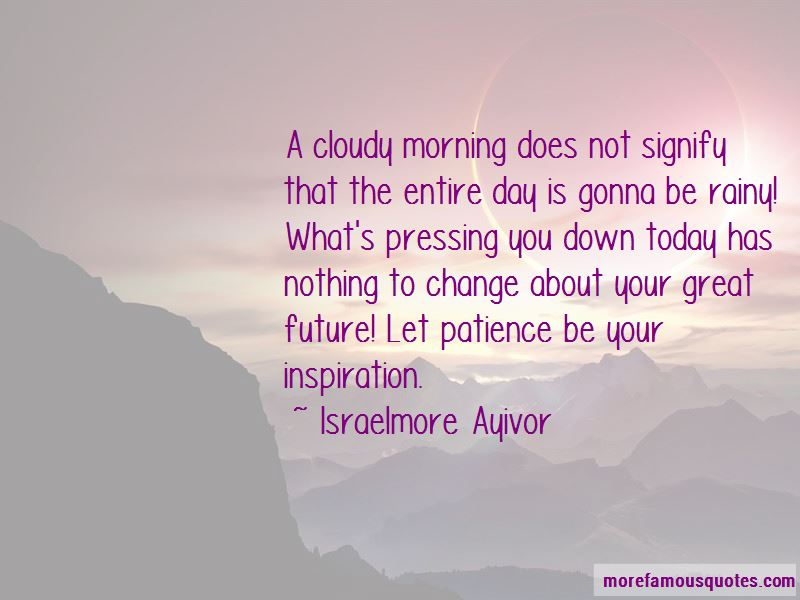 Great Day Morning Quotes