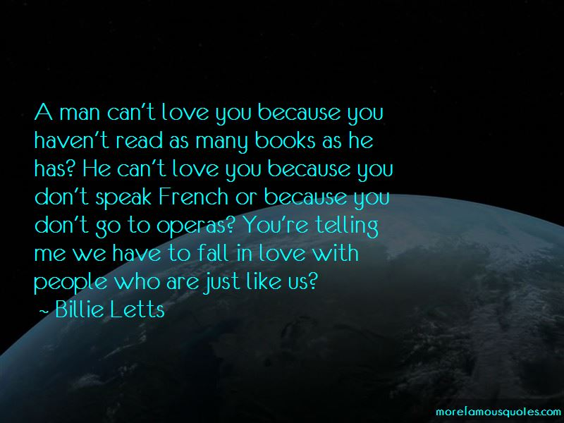 He Can't Love You Quotes