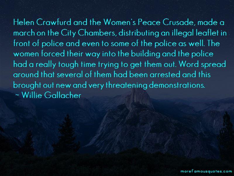 Helen Crawfurd Quotes