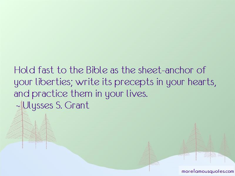 Hold Fast Bible Quotes