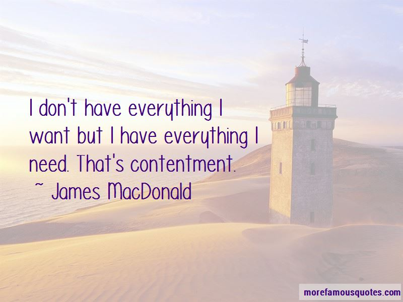 I Don't Have Everything Quotes