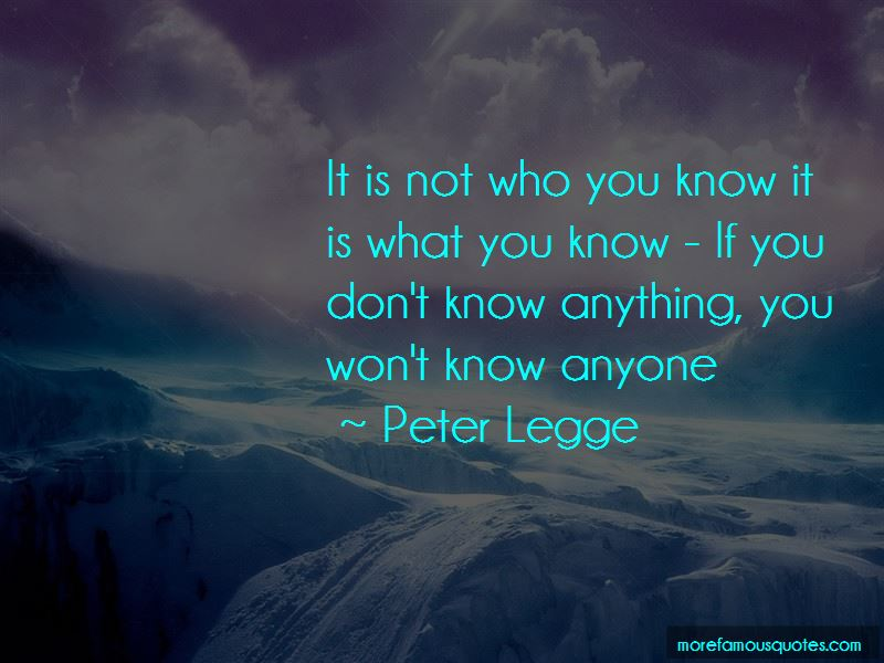 If You Don't Know Anything Quotes Pictures 2