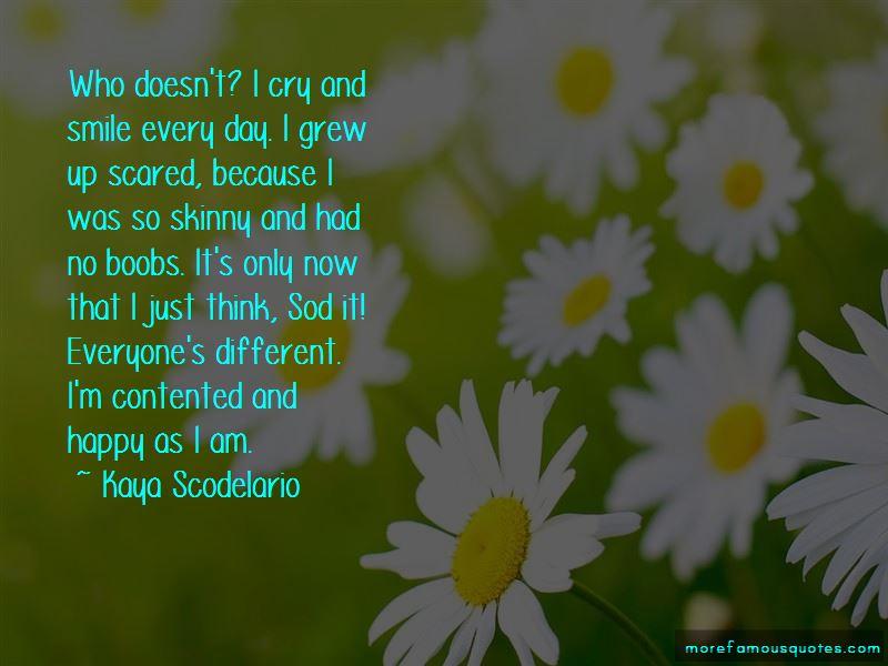 I'm Contented Quotes