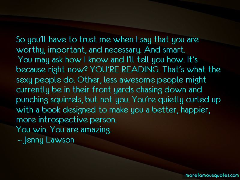 I'm Not Chasing You Quotes
