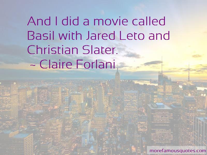 Jared Leto Movie Quotes