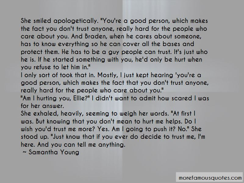 Knowing You Hurt Someone Quotes Pictures 4
