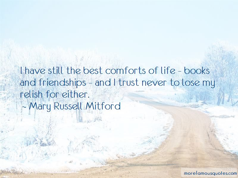 Life Comforts Quotes Pictures 3
