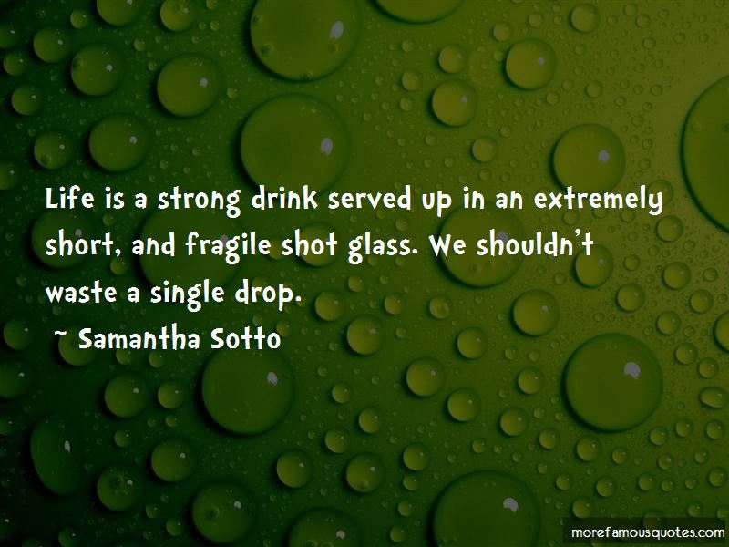 Life Is Short And Fragile Quotes Pictures 2