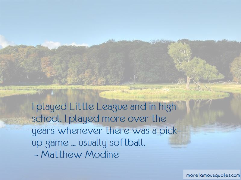 Little League Softball Quotes