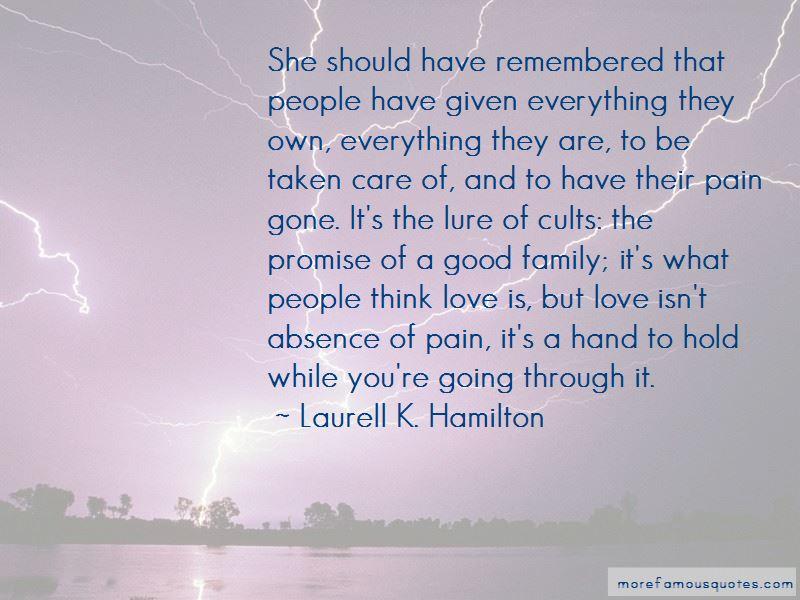 Love Isn't Quotes