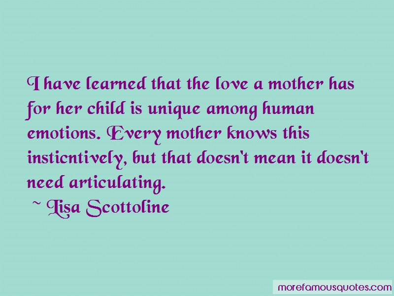 Love Mother Has Her Child Quotes: top 22 quotes about Love ...