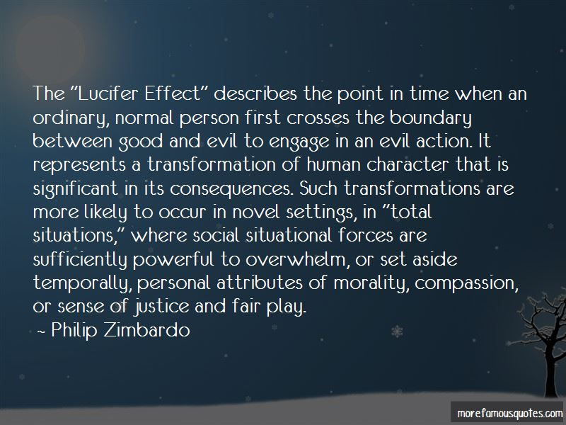 Lucifer Effect Quotes