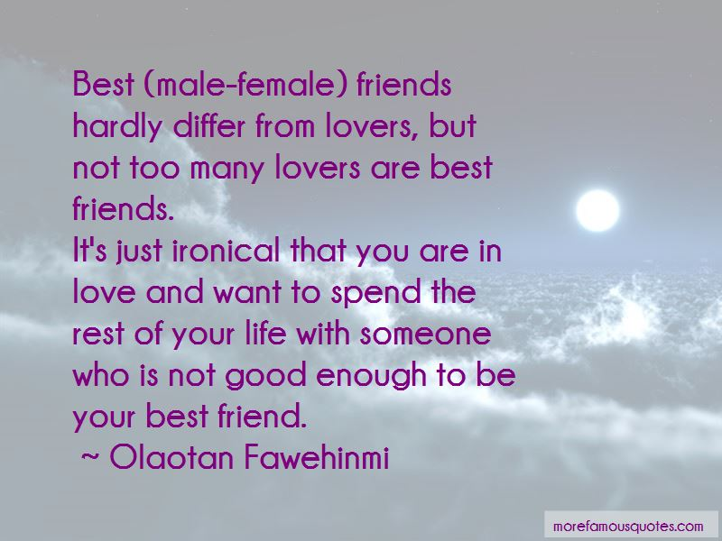 Male Female Friends Quotes