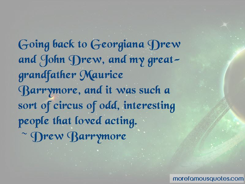 Maurice Barrymore Quotes