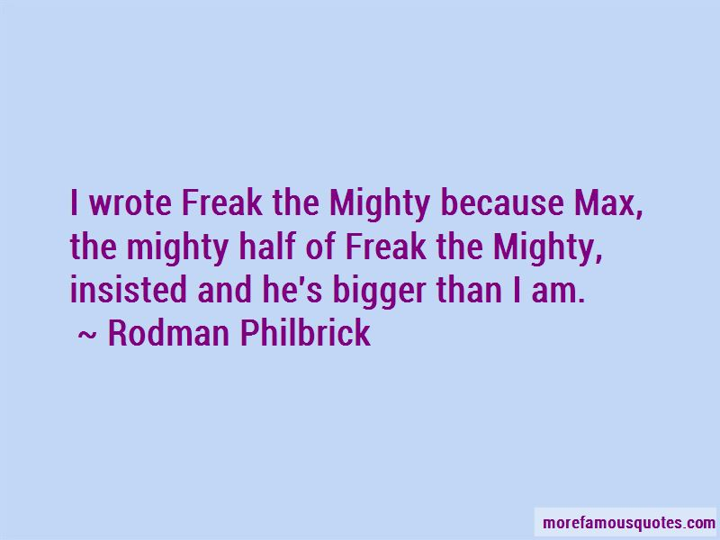 Max The Mighty Quotes