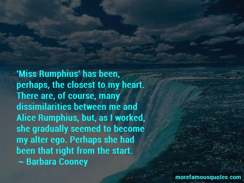 Miss Rumphius Quotes