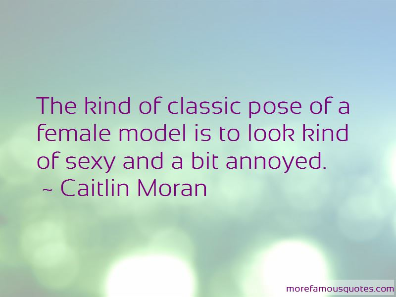 Model Pose Quotes