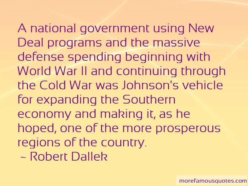 New Deal Programs Quotes