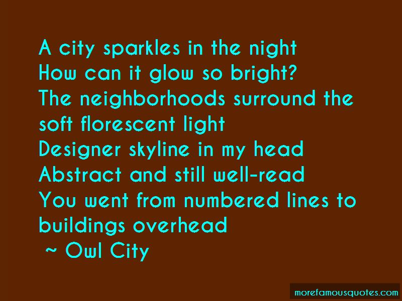 Night Skyline Quotes Pictures 4