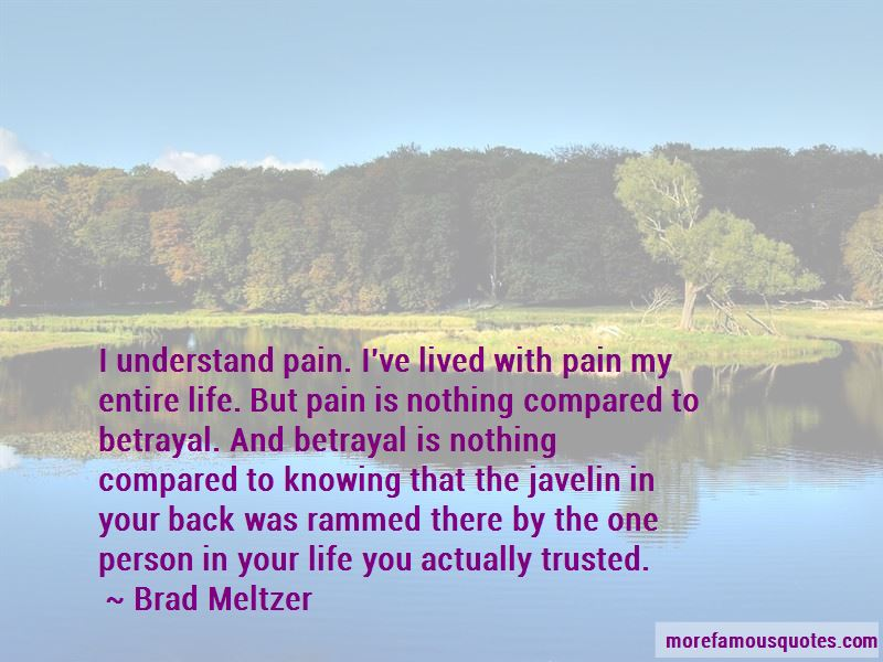 No One Understand My Pain Quotes
