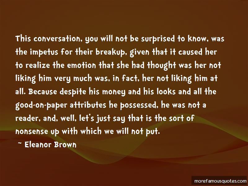 Nonsense Conversation Quotes