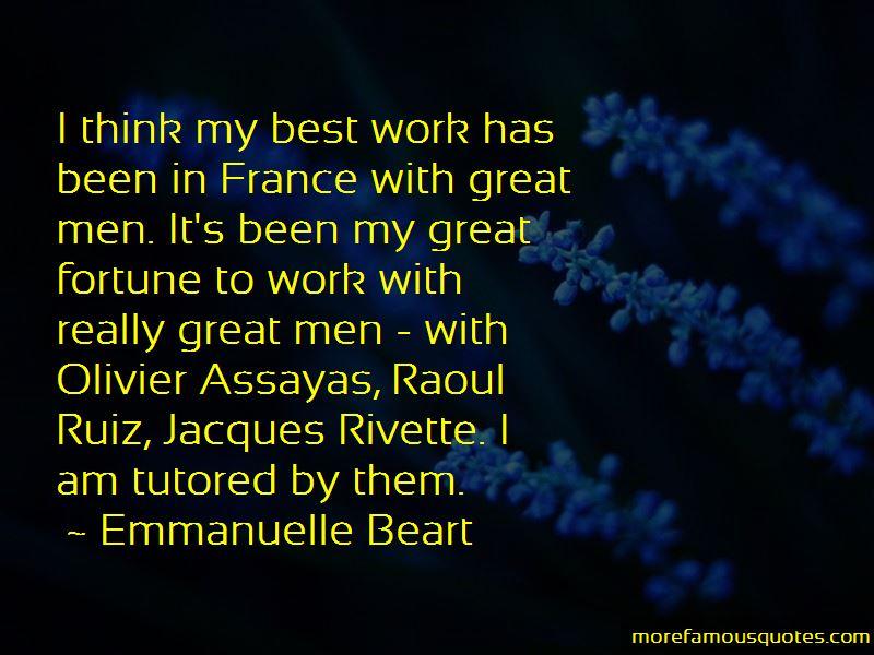 Olivier Assayas Quotes