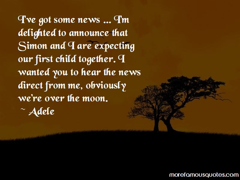 Our First Child Quotes