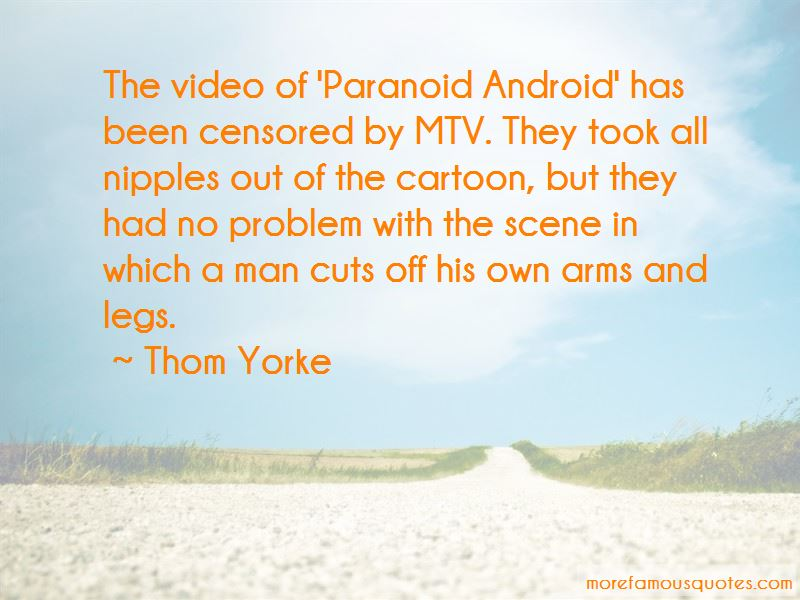 Paranoid Android Quotes Pictures 2