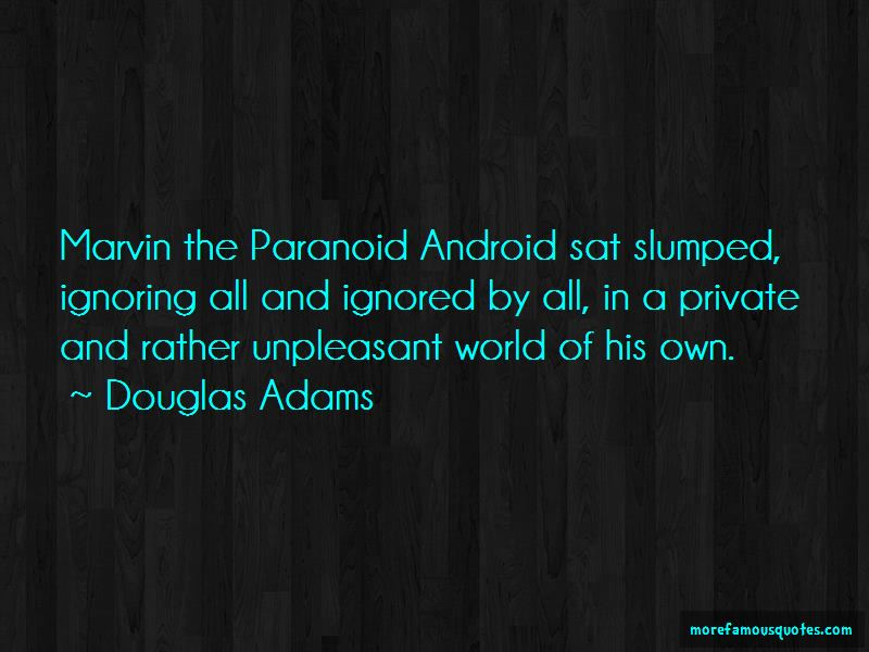 Paranoid Android Quotes