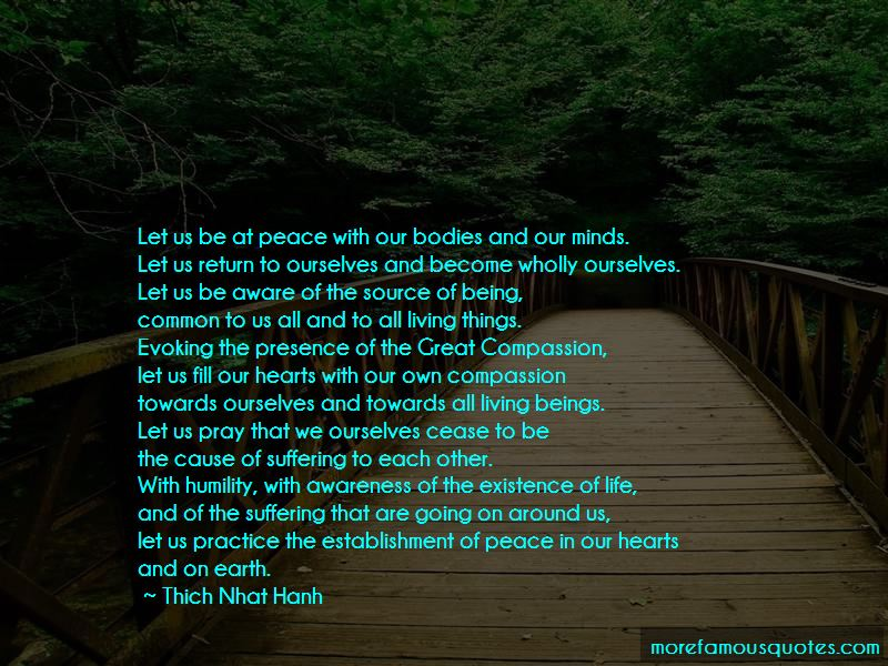 Peace In Our Hearts Quotes Pictures 2