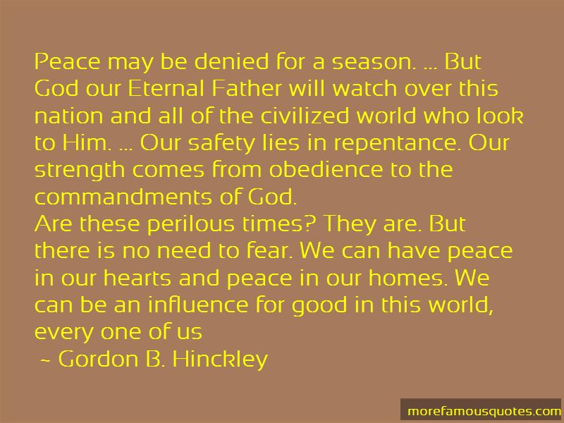 Peace In Our Hearts Quotes Pictures 4