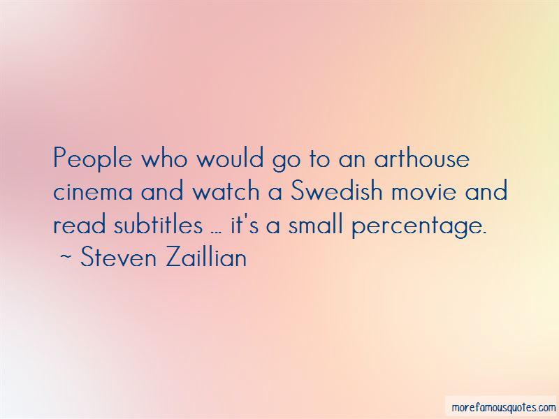 Percentage Movie Quotes
