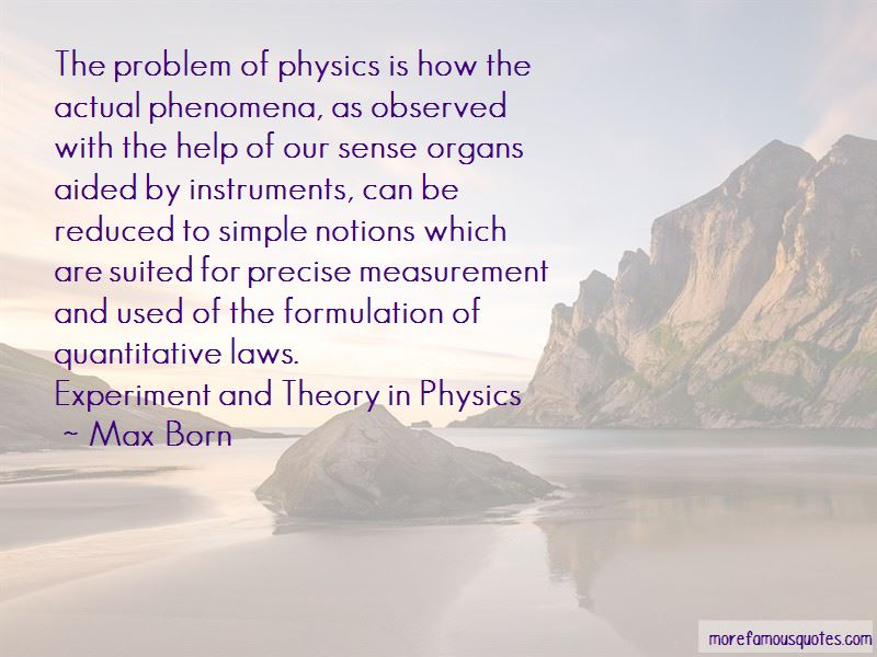 Physics Experiment Quotes Pictures 3
