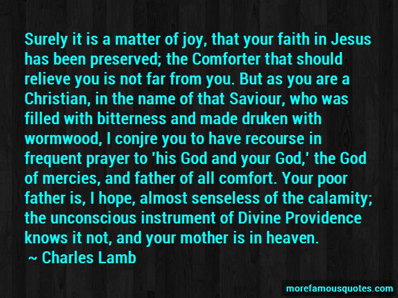 Prayer For Calamity Quotes
