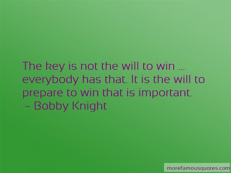 Prepare To Win Quotes