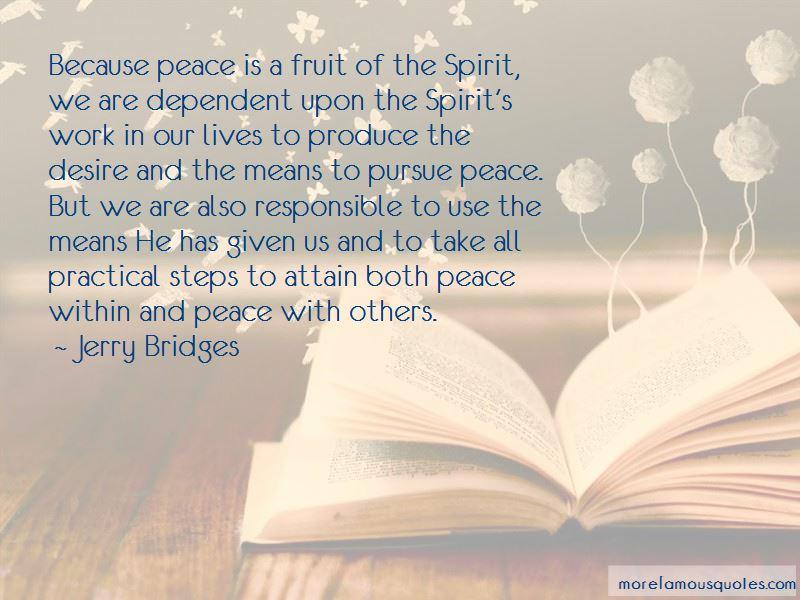 Pursue Peace Quotes