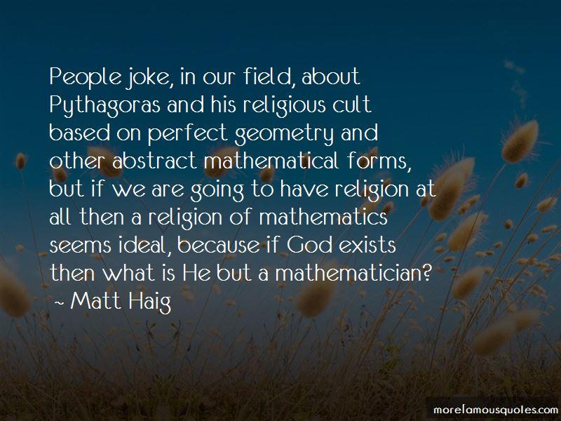 Pythagoras Mathematician Quotes