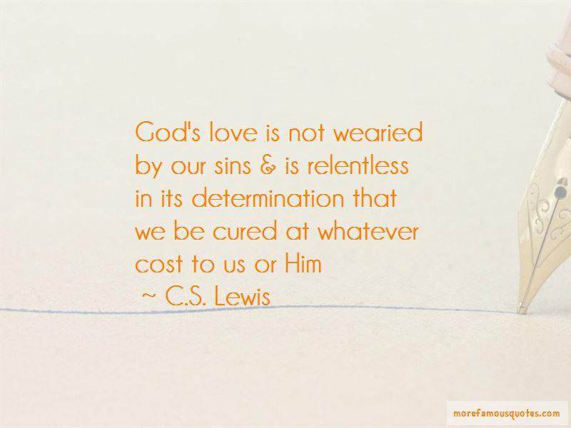 Relentless Determination Quotes