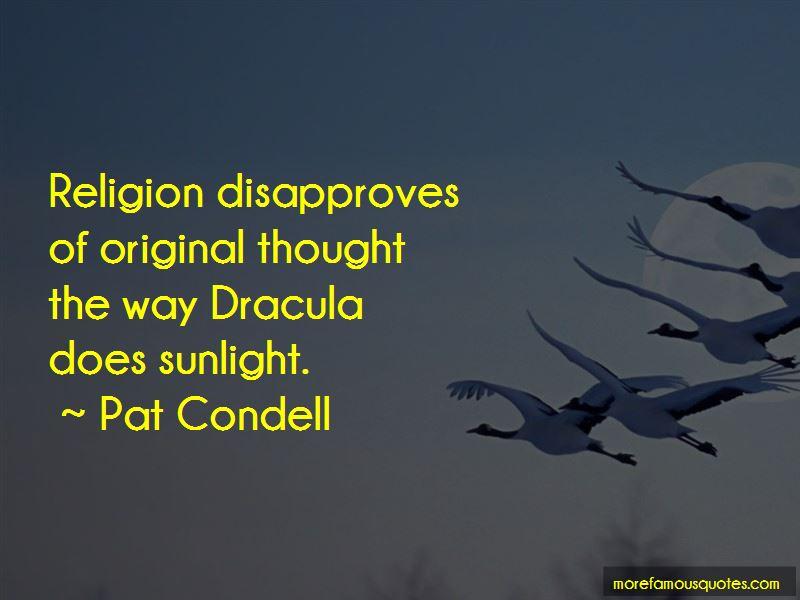 Religion In Dracula Quotes