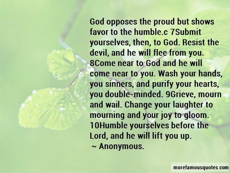 Resist The Devil Quotes
