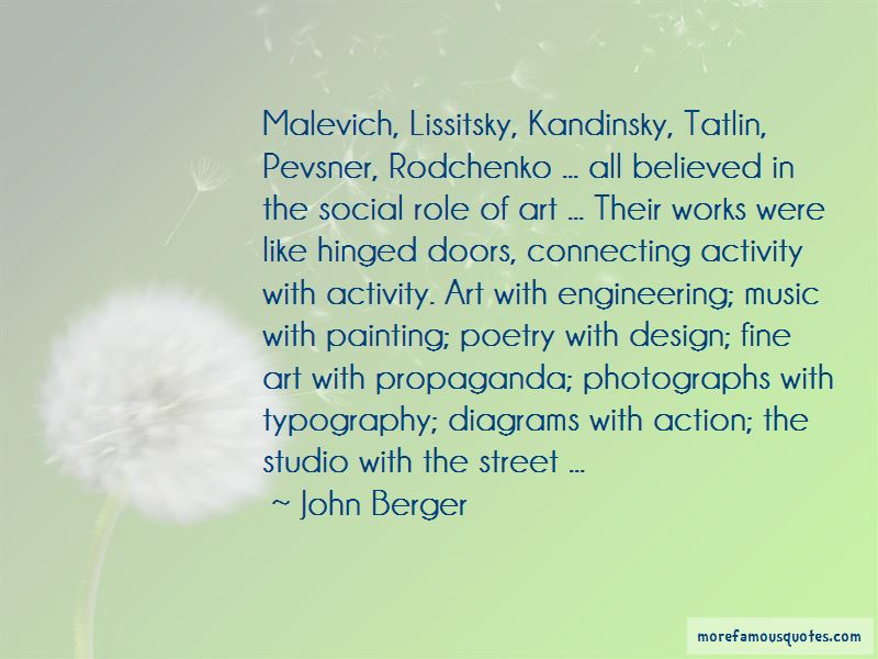 Role Of Art Quotes