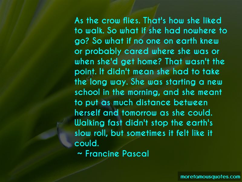 Roll On Tomorrow Quotes