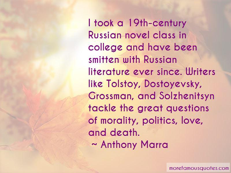Russian Literature Love Quotes