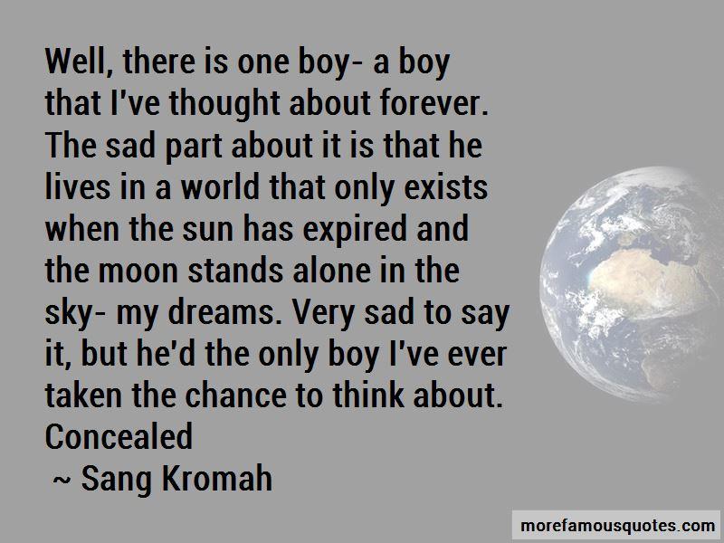 Sad Boy Alone Quotes