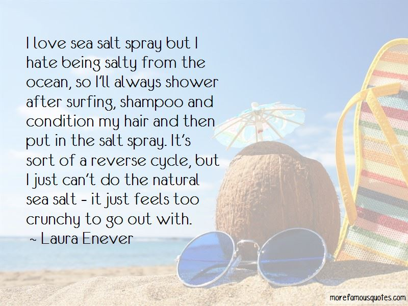 Salty Ocean Quotes Top 11 Quotes About Salty Ocean From Famous Authors