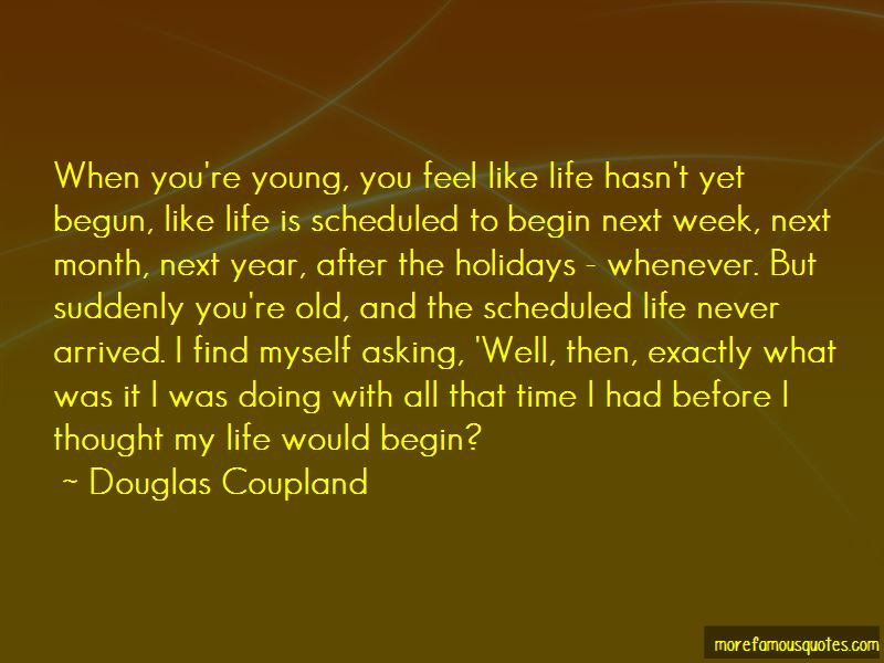 Scheduled Life Quotes